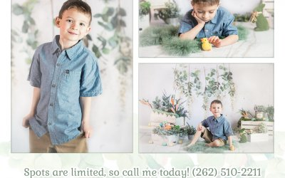 Spring and Easter Mini Photo Sessions – Milwaukee Newborn and Family Photographer