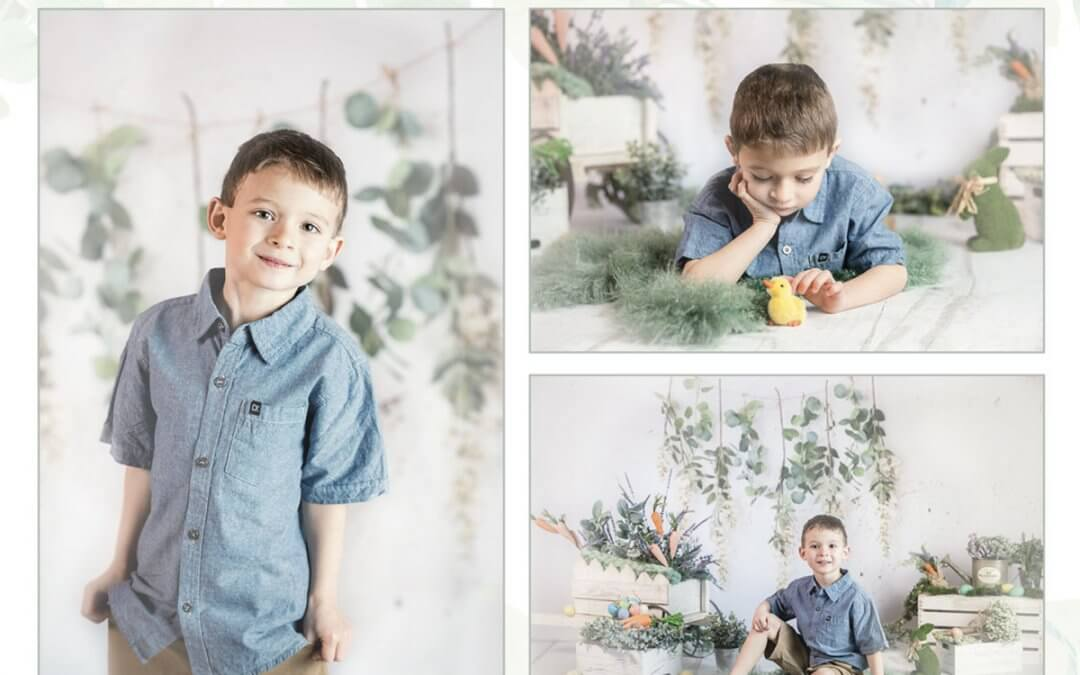 Spring and Easter Mini Photo Sessions | Milwaukee Newborn and Family Photographer